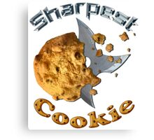 Sharpest Cookie (in the Jar) Canvas Print