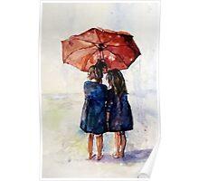 umbrella Girls Poster