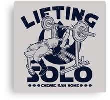 Lifting Solo Canvas Print