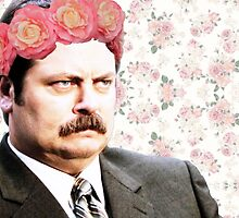 Ron Swanson by WHITEBITCHCRAFT