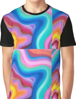 Hypnotic Energy Painting  Graphic T-Shirt