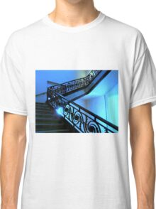 Blue Staircase  ^ Classic T-Shirt