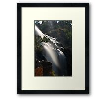 Side Viewing, MacKenzie Falls by Lorraine McCarthy Framed Print