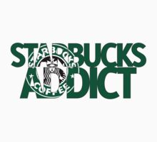 Starbucks Addict Baby Tee