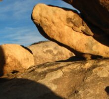 Arch Rock, Joshua Tree National Park, CA 2016 Sticker