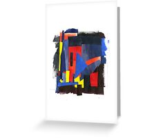 acrylic collage Greeting Card