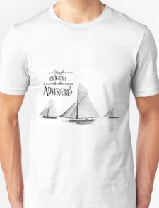 Blessed are the curious for they shall have adventures. Unisex T-Shirt