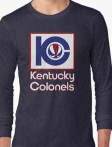 DEFUNCT - KENTUCKY COLONELS Long Sleeve T-Shirt
