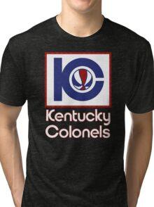 DEFUNCT - KENTUCKY COLONELS Tri-blend T-Shirt
