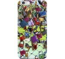 Lovers Locks in Salzburg iPhone Case/Skin