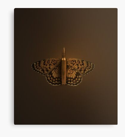 Bullet Butterfly Canvas Print