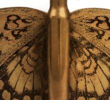 Bullet Butterfly Sticker