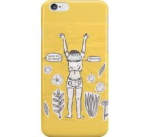 growing and glowing iPhone Case/Skin