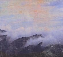 mountains in clouds by Marianna Tankelevich
