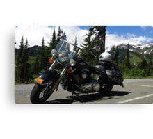 Harley Davidson - Mt Rainier Canvas Print