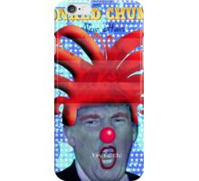 GIVE DONALD CHUMP A NEW HAIR iPhone Case/Skin