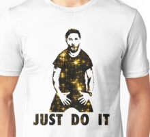 Just Do It Shia Labeouf gold star Unisex T-Shirt
