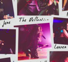 Fifth Harmony Polaroid Collage Sticker
