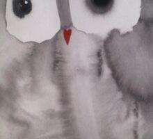 Owl 11 Sticker