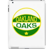 DEFUNCT - OAKLAND OAKS iPad Case/Skin