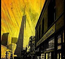 North Beach,San Francisco (Yellow Edit) by RobynLee