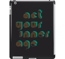 Growing Up iPad Case/Skin