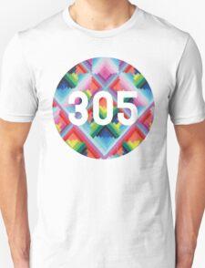 305 miami wynwood walls Unisex T-Shirt