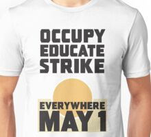 Occupy Educate Unisex T-Shirt