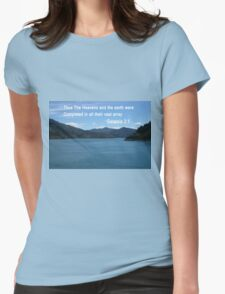Blue Waters of the Marlborough Sounds (4019 Views) T-Shirt