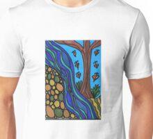 earth, river, tree Unisex T-Shirt