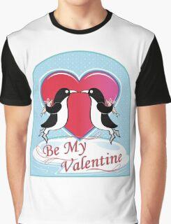 Love Penguins Valentine Graphic T-Shirt