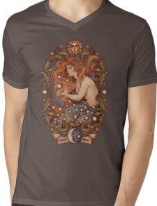 COSMIC LOVER - Color version Mens V-Neck T-Shirt