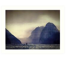 Milford Sound  Art Print