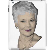 Judi - The Great Dames iPad Case/Skin