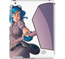 Ramona Flowers #FightLikeAGirl iPad Case/Skin