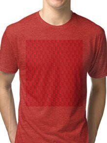 Strawberry Pattern Tri-blend T-Shirt