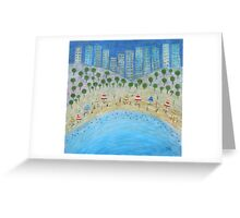 Beach City Greeting Card
