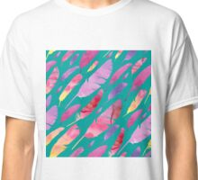 - Watercolor feathers - Classic T-Shirt