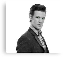 Matt Smith, Dr. Who Canvas Print