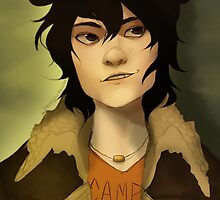 Nico di Angelo Portrait by Saber-Coon