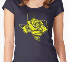Yellow Rose of Texas Women's Fitted Scoop T-Shirt