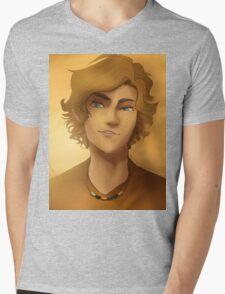 Will Solace Portrait Mens V-Neck T-Shirt