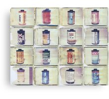 Film Collage #1 Canvas Print