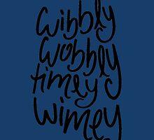 Wibbly Wobbly Timey Wimey by Katie Thomas