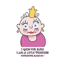 Little Princess - For Sure Photographic Print