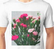 Watercolor Florals Still Life #redbubble #decor #style #watercolor #buyart Unisex T-Shirt