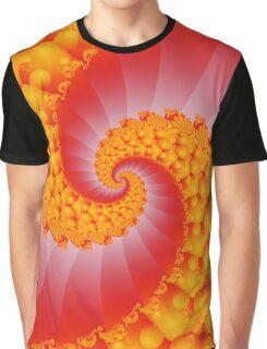 Spiral Fractal Graphic T-Shirt