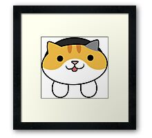 Tabitha the Cat Framed Print