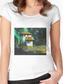 White House Women's Fitted Scoop T-Shirt