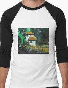 White House Men's Baseball ¾ T-Shirt